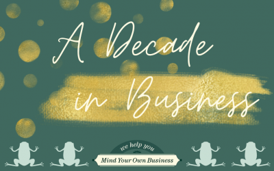 A Decade in Business!